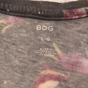 BDG Tops - {BDG} Cosmic Kitty T-shirt from Urban Outfitters L